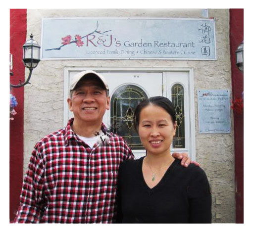 Photo of the owners of R & J's Garden Restaurant